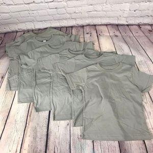 Rabbit Skins Kids Tee Short Sleeve Tshirt-Set of 6